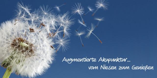 Heuschnupfen – ade mit augmentierter Akupunktur